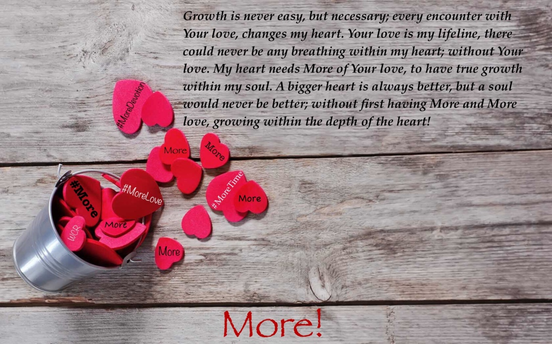 your love is more