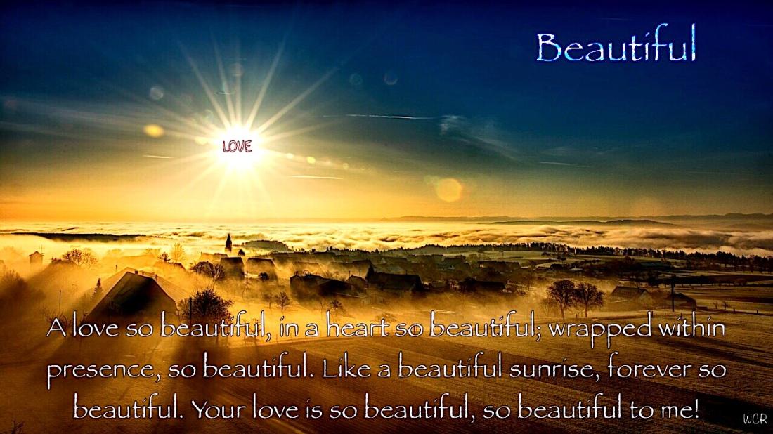 Beautiful! – iWrite… my love story!
